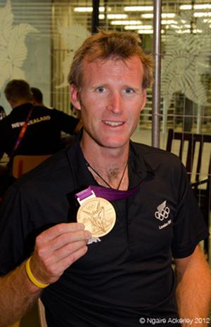 Mahe Drysdale, New Zealand rower. Copyright of Ngaire Ackerley, 2012.