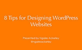 8 tips for designing wp websites