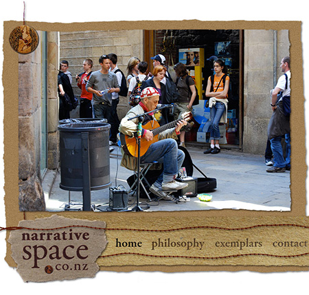 Narrative Space Website Design and Development