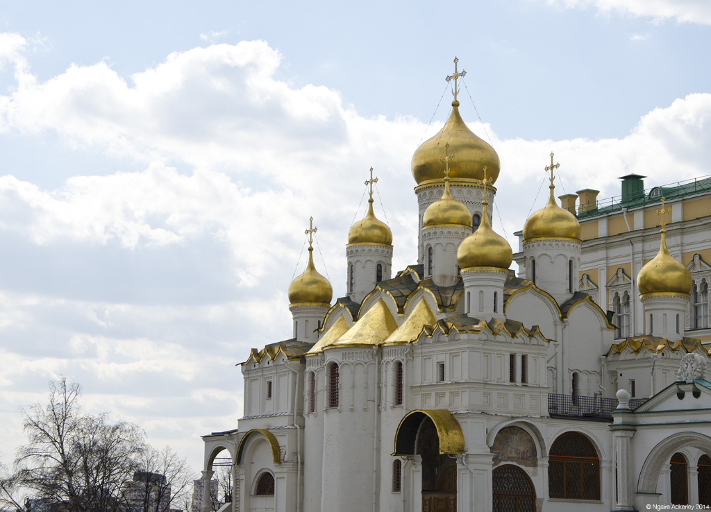 Annunciation Cathedra of the Kremlin, Moscow, Russia