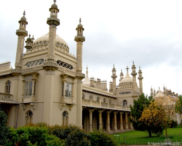 Brighton Royal Pavilion, England.