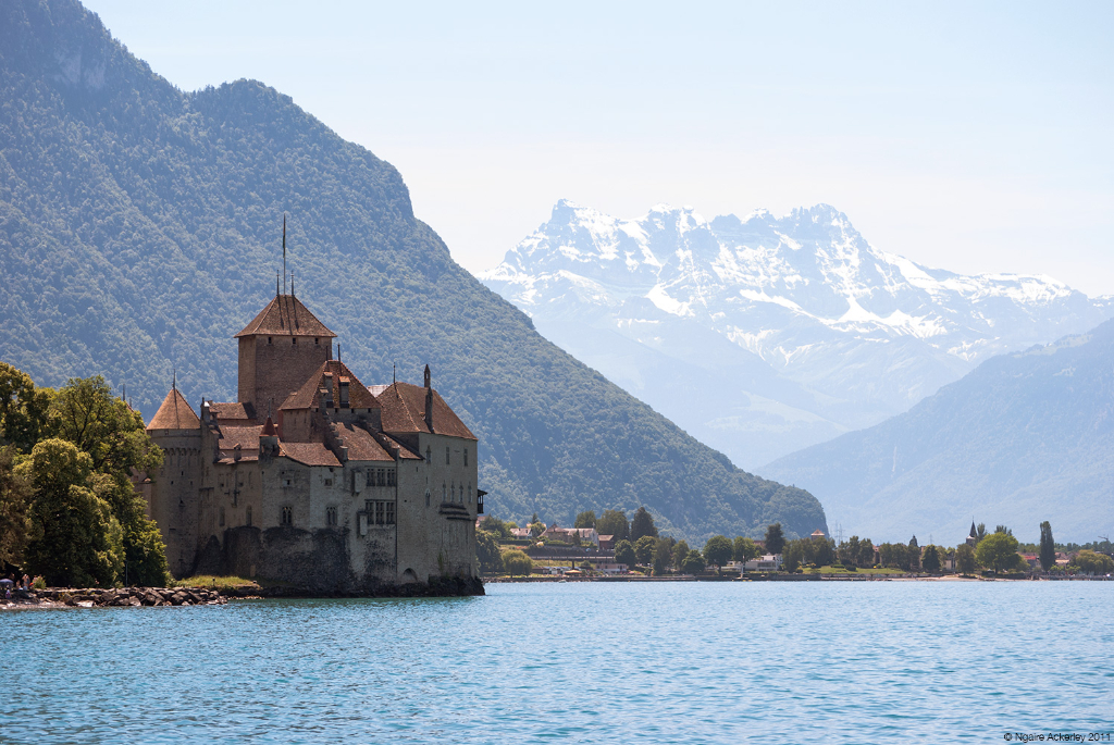 Chateau de Chillon, Montreux, Switzerland.
