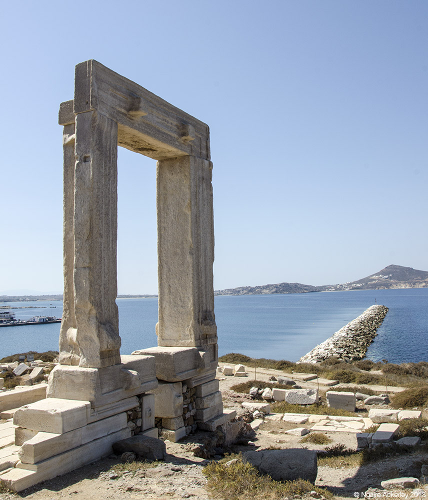 Portara of Naxos, Greece