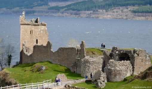 Urquhart Castle, Scotland.