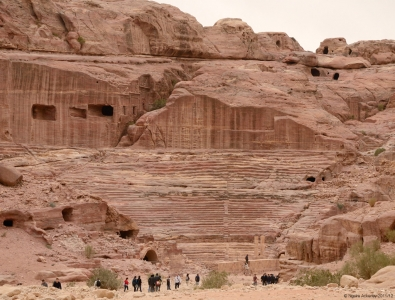 Amphitheatre, Petra, Jordan.