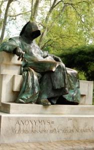 Statue, Budapest, Hungary.