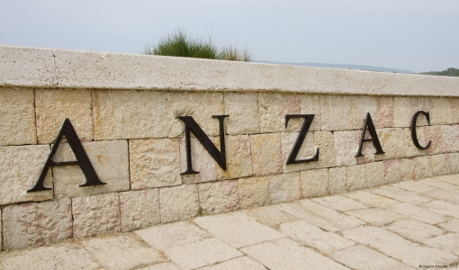 ANZAC Cove, Gallipoli, Turkey.