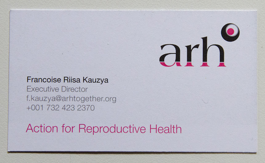 arh Business Card