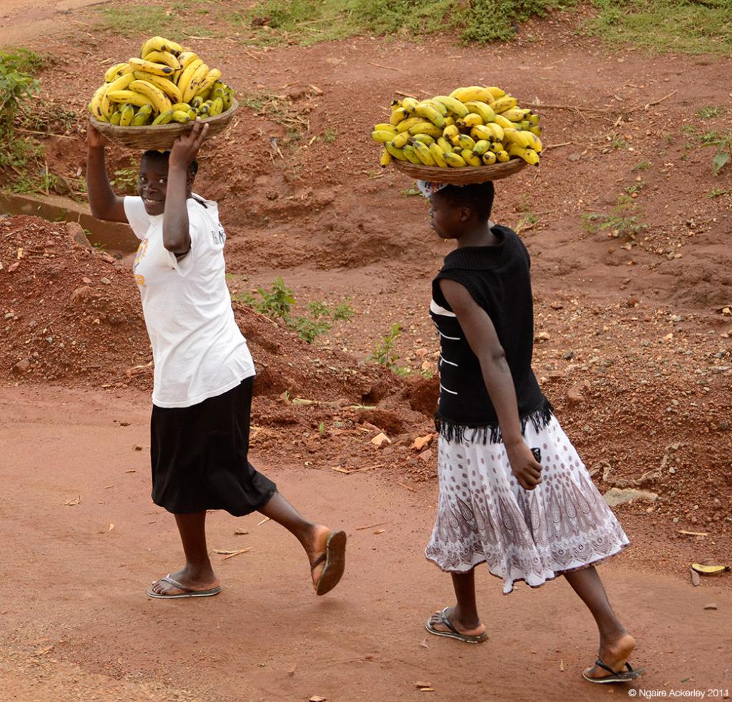 Banana Carriers, Uganda.