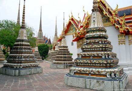 Temples, Bangkok, Thailand.