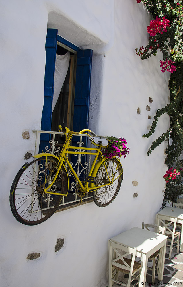Bike, Naxos, Greece