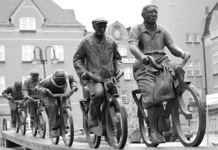 Bike Statue, Sweden.