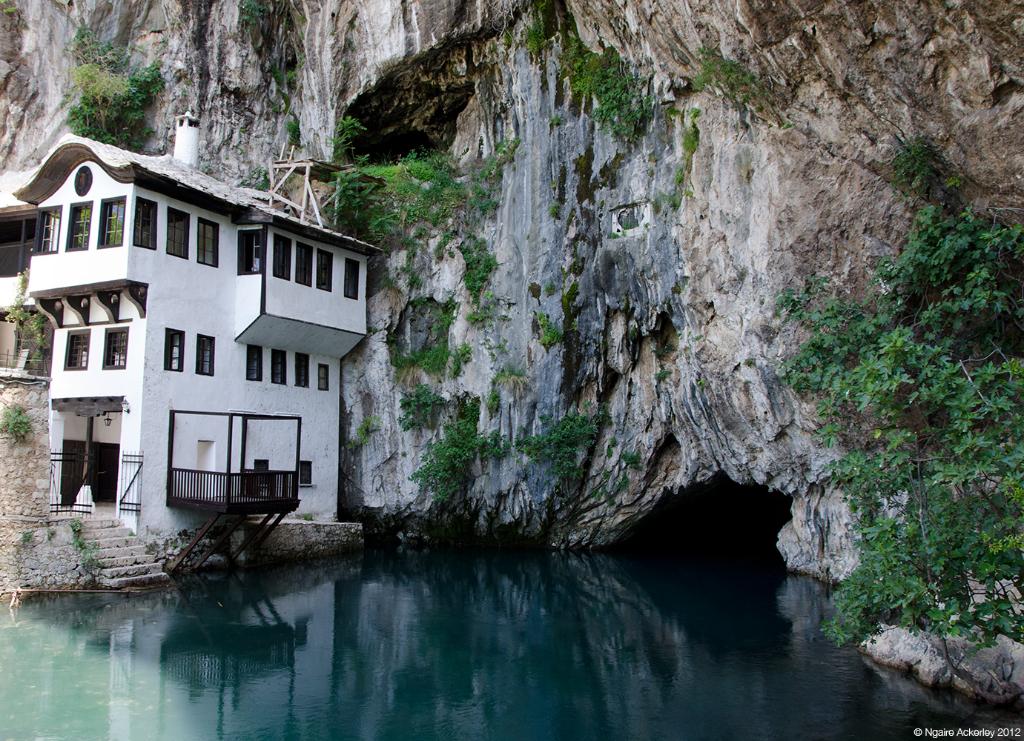 Blagaj Tekke Monastery, Bosnia and Herzegovina.