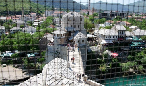 Mostar, Bosnia and Herzegovina.