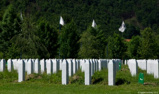 Graves, Srebrenica.