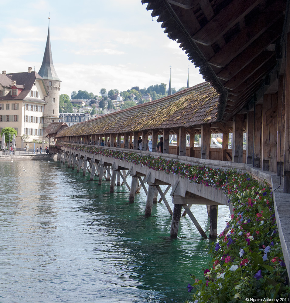 Bridge, Lucerne, Switzerland.