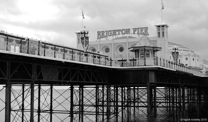 Brighton Pier, England.