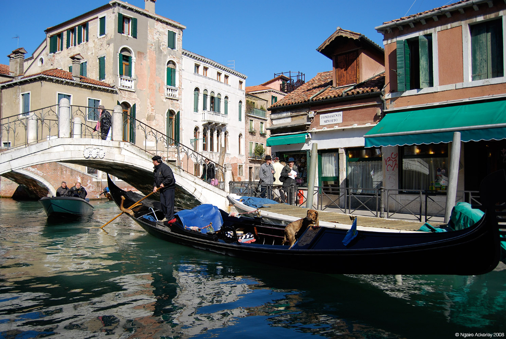 Canals of Venice, Italy.