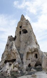 Open Air Museum Caves, Goreme, Cappadocia, Turkey.