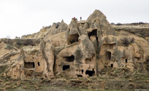 Caves, Goreme, Cappadocia, Turkey.