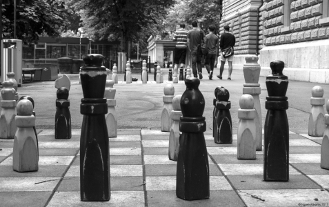 Chess, Bern, Switzerland.