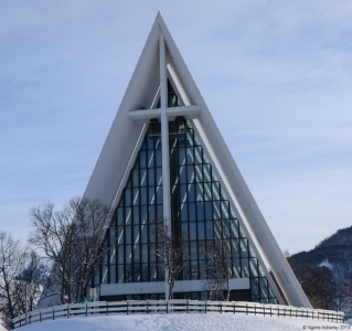 Church in Tromso, Norway.