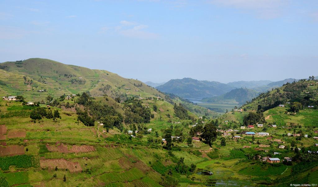 Countryside, Uganda.