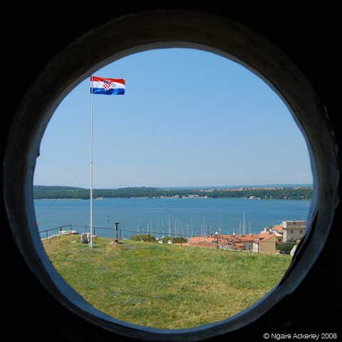 Tower Military Hole, Pula, Croatia.