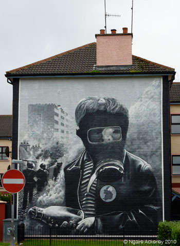 Murals, Derry, Northern Ireland.