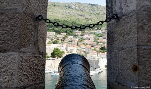 Canon, Dubrovnik, Croatia.