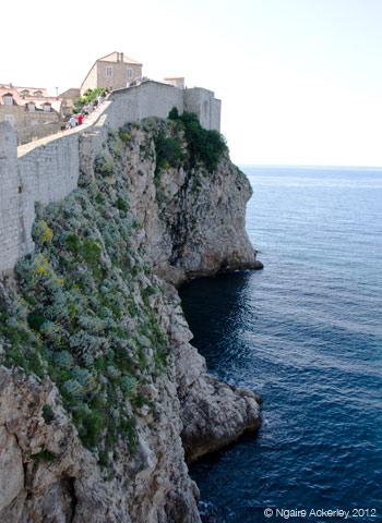 City Wall, Dubrovnik, Croatia.