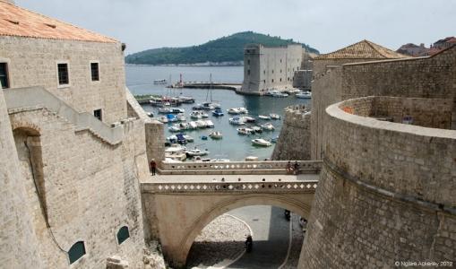 Port, Dubrovnik, Croatia.