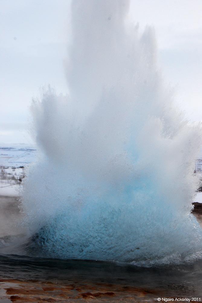 Geysir, Iceland.