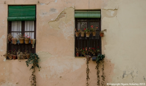 Windows, Granda, Spain.