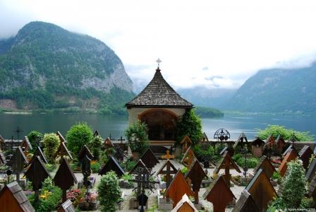 Graveyard, Hallstatt, Austria.