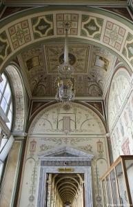 Hallway inside Hermitage Museum, Saint Petersburg, Russia