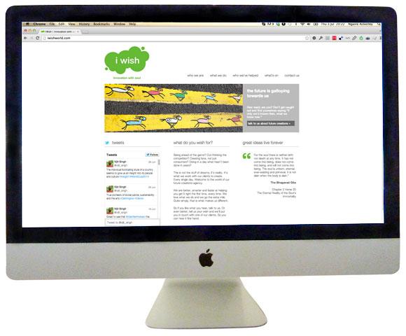 I Wish Homepage