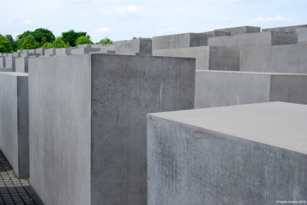 Jewish Memorial, Berlin, Germany.