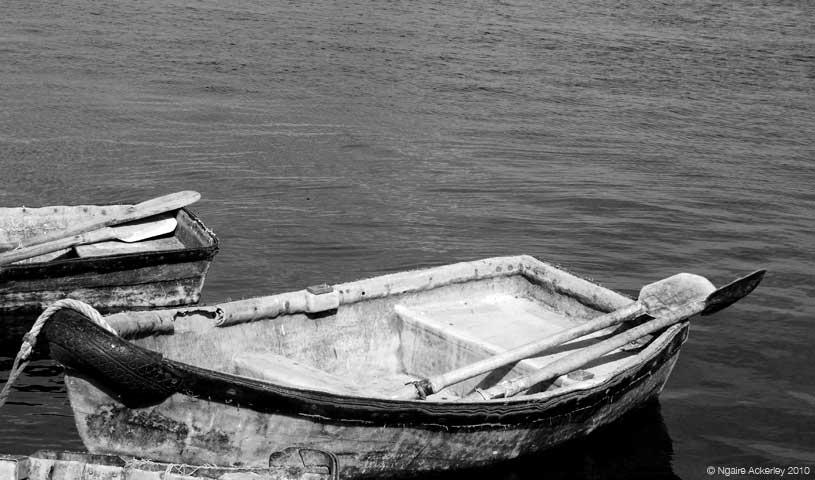 Boats, Kinvara, Ireland.