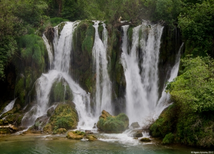 Kravica Waterfalls, Bosnia and Herzegovina.