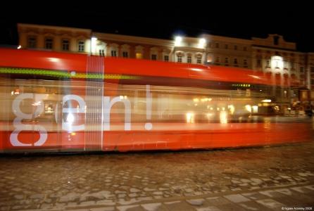 Tram, Linz, Austria.