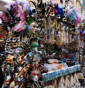 Masks, Venice, Italy.
