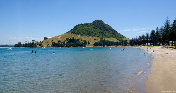 Pilot Bay, Mt. Maunganui, New Zealand.