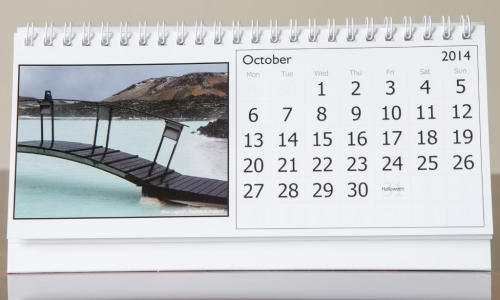 Month of October, 2014 Calendar