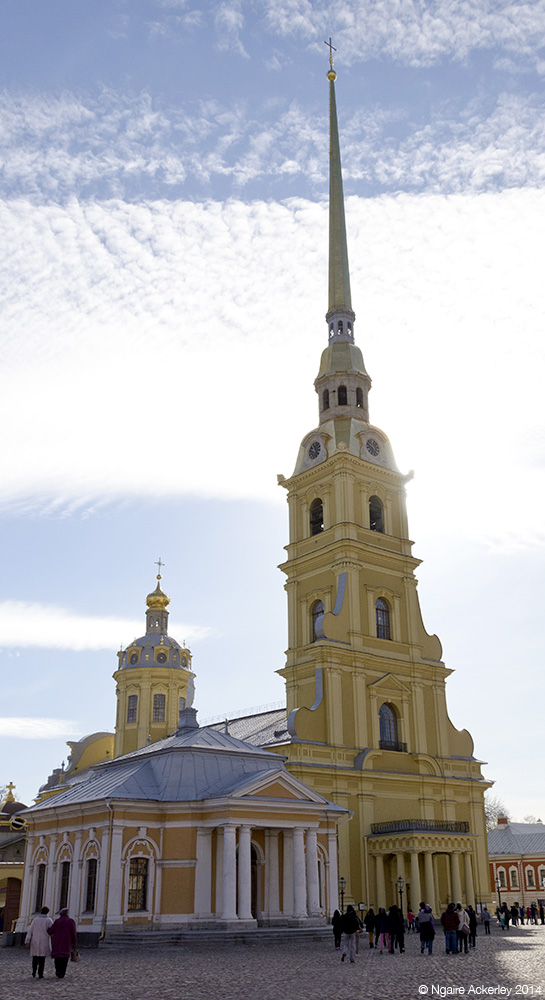 Church of Peter and Paul, Peter and Paul Fortress, Saint Petersburg, Russia