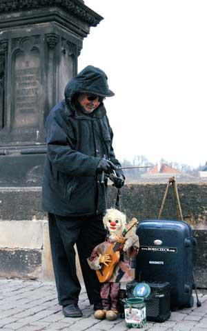 The poor of Europe, Prague