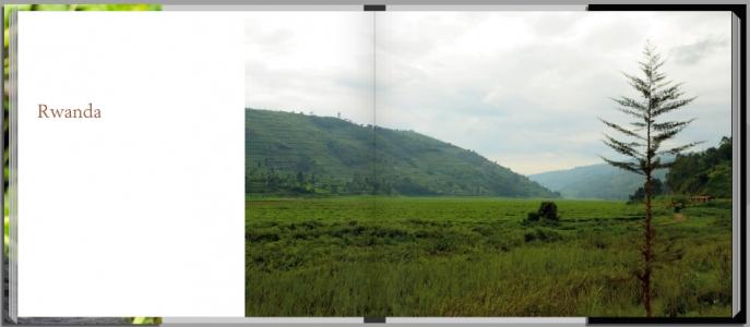 Footprints through East Africa - Rwanda intro page