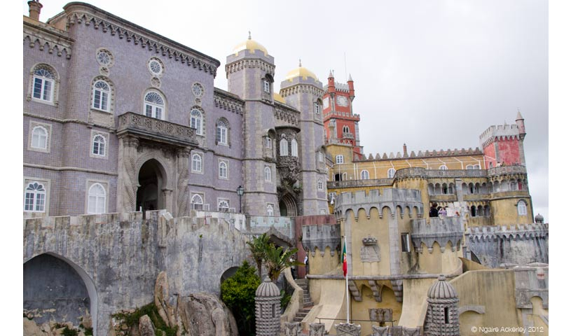 Palacio da Pena, Sintra, Portugal.