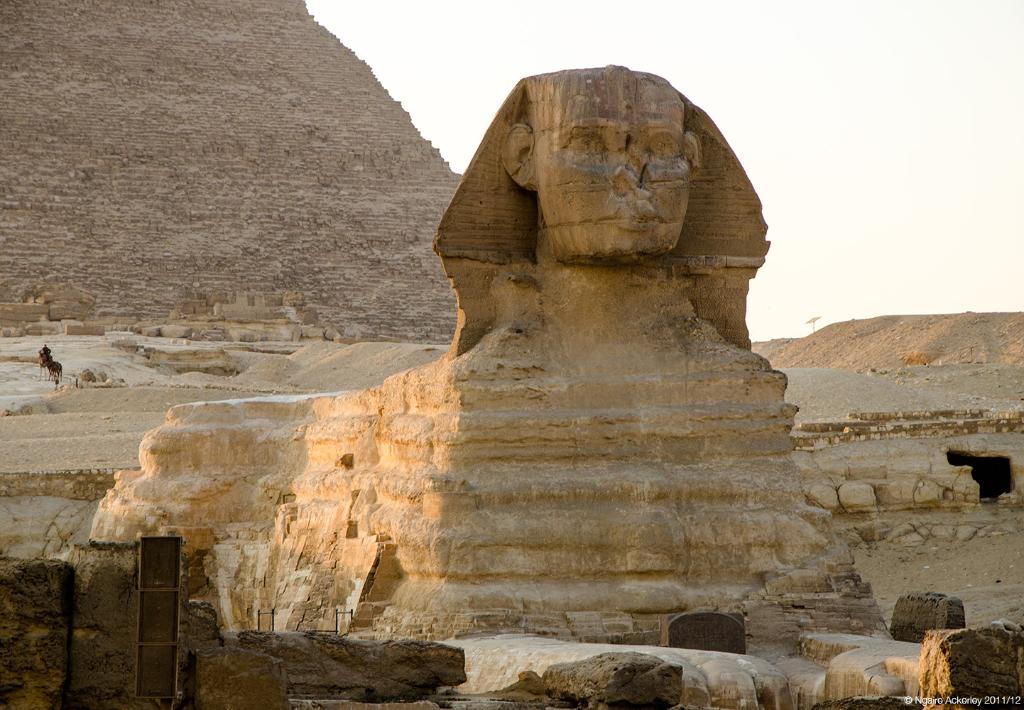 Sphinx, Giza, Cairo, Egypt.