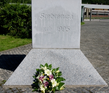 Memorial at Srebrenica, Bosnia and Herzegovina.